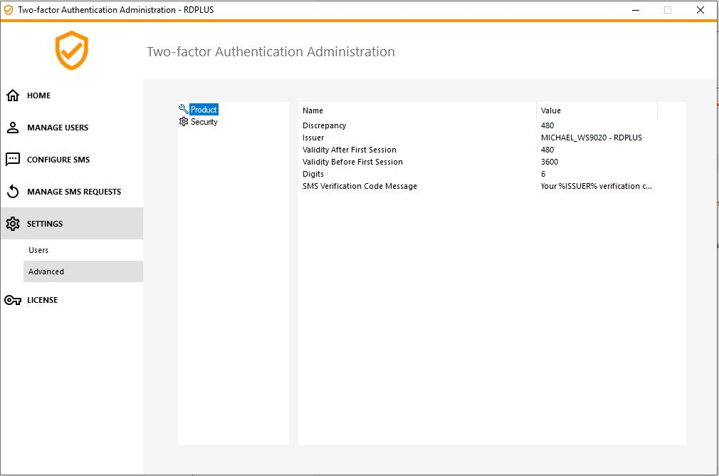 Two-factor Authentication-Advanced-Settings