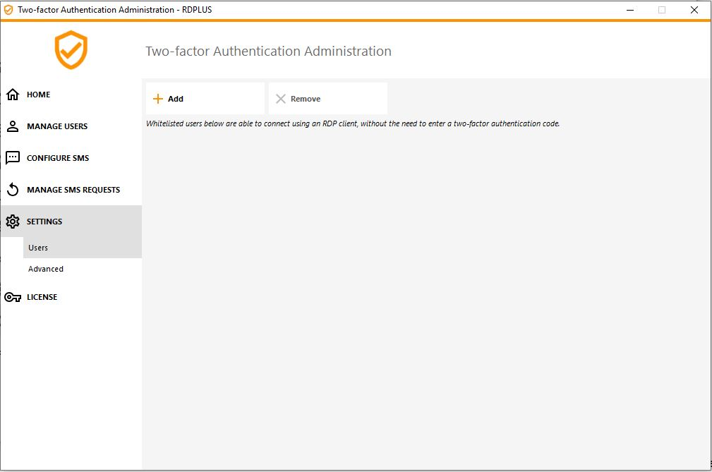 Two-factor Authentication-Settings