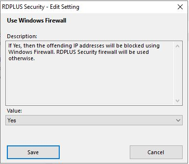 Firewall Settings 2
