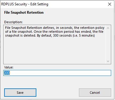 Advanced Ransomware Settings 5